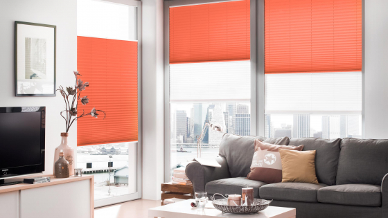 konfiguriere dir dein plissee rot exakt nach deinen vorgaben sonevo. Black Bedroom Furniture Sets. Home Design Ideas